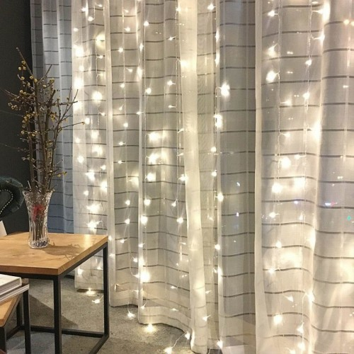 LED Curtain New Year And Christmas