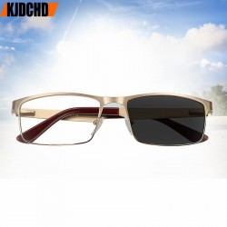 Sun Photochromic Men's Reading Glasses Glass Farsightedness +50 +75 +100 +125 +150 +175 200 +225 +250 +275 +325 +350 +375 +400