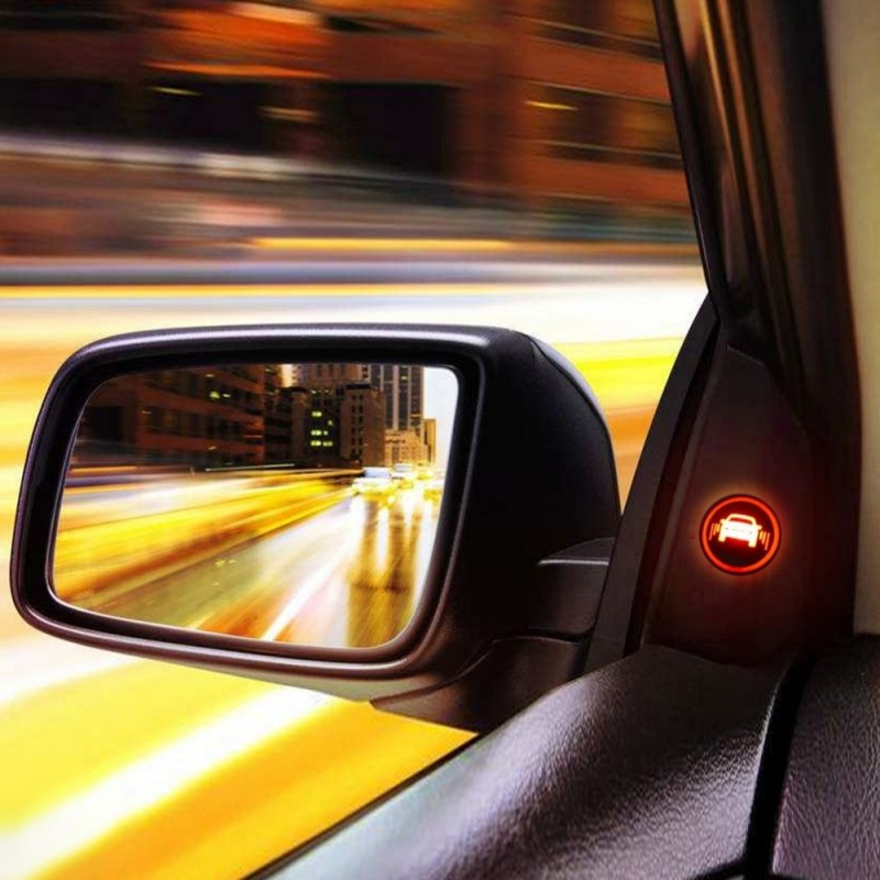 car blind spot mirror radar detection system. Black Bedroom Furniture Sets. Home Design Ideas