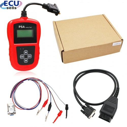 Pin code calculator PSA IMMO Tool for Peugeot and for Citroen from 2001 to 2018 Newest PIN CALCULATOR and IMMO EMULATOR