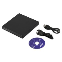 Super Slim USB 2.0 External CD+-RW DVD+-RW DVD-RAM Burner Drive Writer For Laptop PC