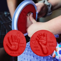 Baby Care Air Hand Foot Inkpad Drying Soft Clay