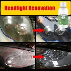 Car Headlight Lens Restoration Kit