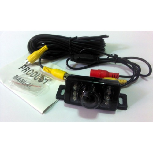 Universal Rear View Camera with IR LED