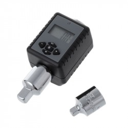 Digital display torque wrench adapter adjustable electronic wrench