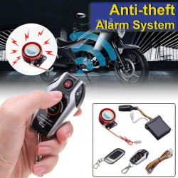 2Way Scooter Anti Theft Burglary Alarm System Remote Engine Start Stop