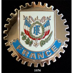 CAR GRILLE EMBLEM BADGES - FRANCE (CREST)
