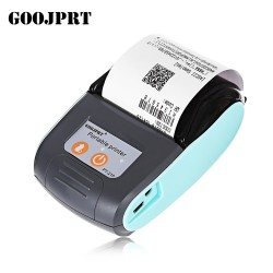 GOOJPRT PT-210 58MM Bluetooth Thermal Printer Portable Wireless Receipt Machine POS Receipt Printer for Windows Android iOS