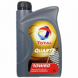 Total Quartz Racing 10w-60 Fully Synthetic Engine Oil 1 L 1 Litre