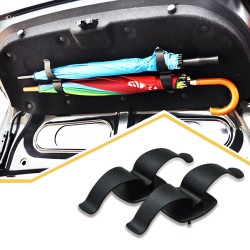 1 Pair Universal Interior Trunk Mounting Bracket Umbrella Holder