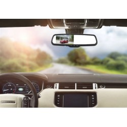 """4.3""""TFT LCD Rear View Car Mirror with Anti-glare function"""