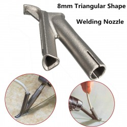 8mm Triangular Speed Welding Nozzle Tip for Plastic Welding Polypropylene Polythene