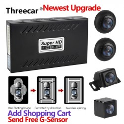 Panoramic Rearview Camera 360 Degree Parking System