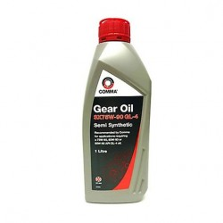 COMMA SX75W-90 GL-4 SEMI-SYNTHETIC GEAR OIL SXGL41L by Comma