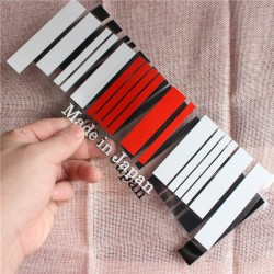 Made in Japan Flag Bar Code Car Stickers