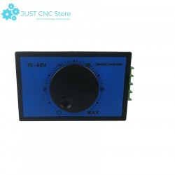 DC Motor Speed Controller 20A 10-60V PWM Regulating Current Switch Module Rotating button