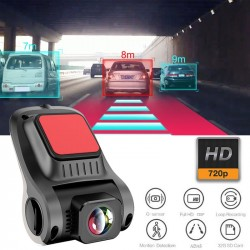 Car Dash Cam ADAS Dvr with 720P Ultra HD Sensor