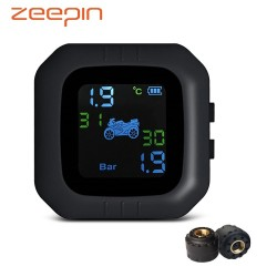 Motorcycle TPMS with LCD display