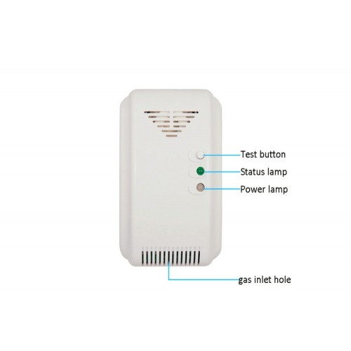 12VDC NC/NO Relay Output Signal Options Wall-mounted Home security Control Coal Gas natural Gas LPG Leaking Detector