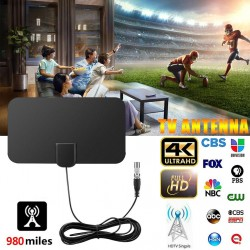 980 Miles HD TV Antennas Indoor Mini HD Digital TV Antenna DVB-T2