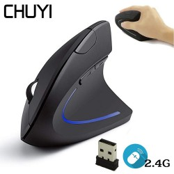 Wireless Ergonomic Vertical Mouse 1600 DPI Optical USB Computer Gaming Mouse Laptop
