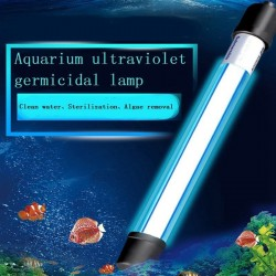 Fish Tank Lamp UV Sterilizer Light Submersible Waterproof