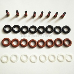 Fuel injector repair kit for Bosch injector, Basket, filter, O-ring, Washer