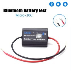 Micro10C Car Bluetooth 12V Battery monitor, Cranking test, Charging test