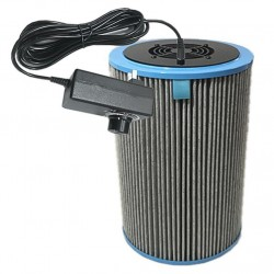DIY Air Purifier Homemade Air Cleaner HEPA Filter Remove PM2.5 Smoke Odor Dust Formaldehyde Home Car Deodorization