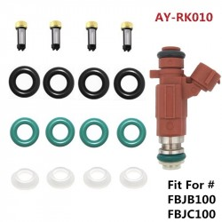 4sets fuel injector repair kit service kits fit for Nissan Sentra Fuel Injector FBJB100 FBJC100 16600-5L700 166005L30