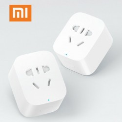 Xiaomi mijia Smart Socket Plug WiFi Wireless Remote Socket Adaptor Power on and off with phone Drop
