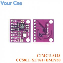 Three-in-one Weather Sensor CCS811+SI7021+BMP280 Sensor Module Carbon Dioxide CO2 Temperature and Humidity Height