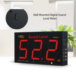 Sound Level Meter with Large LCD Screen Wall Mounted