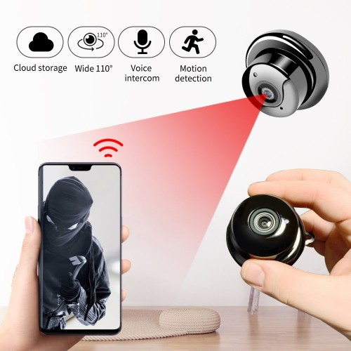 Mini Wireless WIFI IP Camera Full HD 1080P Night Vision Mini Camcorders Kits for Home Security CCTV Webcam View