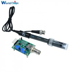 Liquid PH 0-14 Probe Sensor Arduino Module