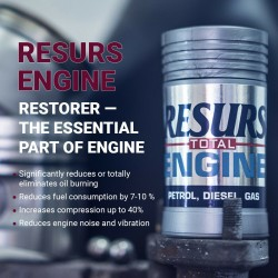 ENGINE OIL ADDITIVE RESURS TOTAL 50g.