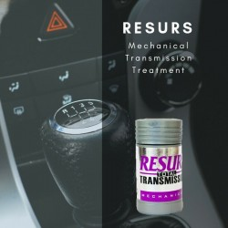 RESURS MECHANICAL TRANSMISSION 50g. OIL ADDITIVE. RESTORES-PROTECTS TRANSMISSION