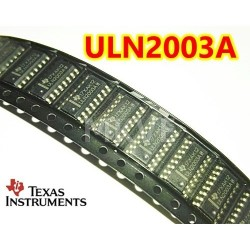 ULN2003A TI 50-V 7-ch darlington transistor array -20C to 70C SMD SOP-16