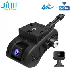 JIMI JC400 4G Wifi Dash Cam DVR with Live Stream Video GPS Tracking by APP Cut-off Fuel Remotely Dual lens DVR 1080P Bluetooth