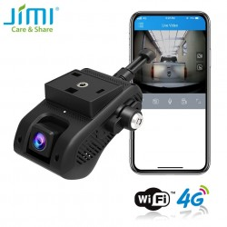 JC400P 4G WIFI Car DVR Live Streaming Video Tracking Dash Cam Embedded Indoor Cam SOS Car DVR Driving Behavior GPS with APP PC