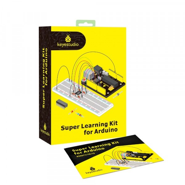 Arduino Super Starter Kit with V4.0 Board UNOR3 32 Projects + Tutorial W/Gift Box