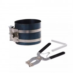 Piston Ring Compressor and Piston Ring Installer Pliers Remover Expander Engine Tool