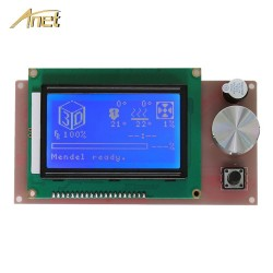 Anet A6 A8 3D printer Parts LCD 12864 2004 Smart Display Screen Controller Module for RAMPS 14 LCD control pa
