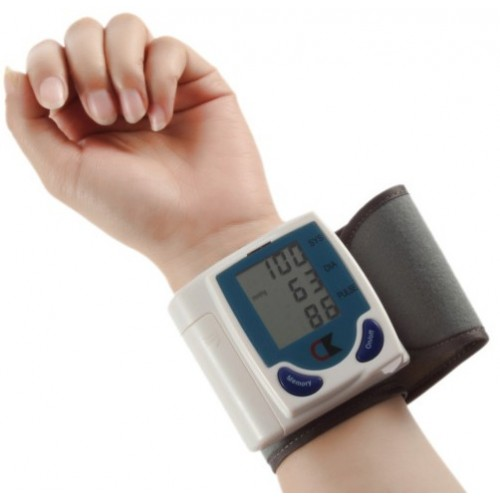 Digital Blood Pressure and Heart Beat Meter