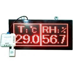LED Temperature and Humidity Display
