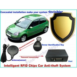 RFID immobilizer car alarms and security