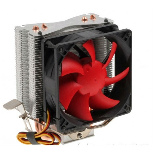 CPU fan cooler 2 heat pipes
