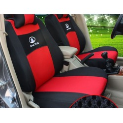 Full set car seat cover, cushion, socket sleeve