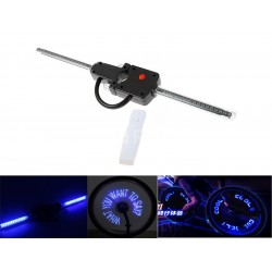 Wireless Custom Message Bike Wheel LED Lights