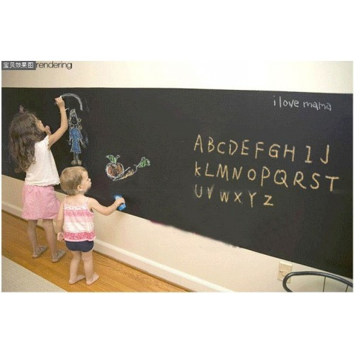 Peel and stick blackboard sticker 45cmx200cm